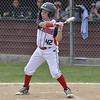 STAN HUDY - SHUDY@DIGITALFIRSTMEDIA.COM<br /> Spring Renegades batter Nick Kraz was as determined at the plate as he was on the mound starting against  Saratoga-Wilton in the Eastern New York State Cal RIpken tournament at Indian Meadows Park in Glenville.