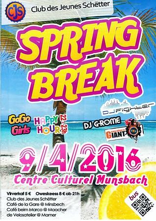 Spring Break Party - CJS