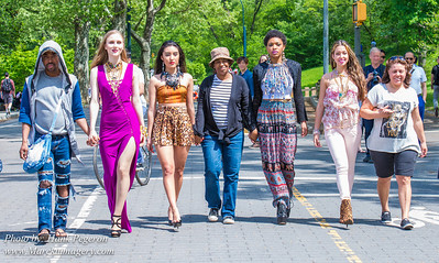 Spring Celebration Promo Shoot in Central Park