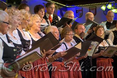 Spring Choir Concert at German American Society 5-15-2016
