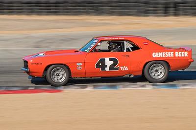 Jim Reed's 1969 Camaro Z28 exiting Turn 5