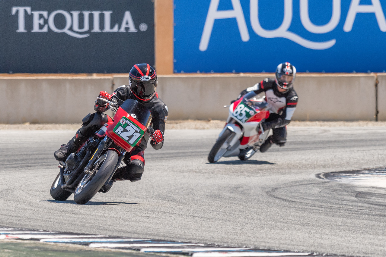 Historic Motorcycles exit Turn 11