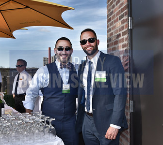 Pioneer Wealth Management featured bartenders Eli Rabinowitz and Ryan Duff.