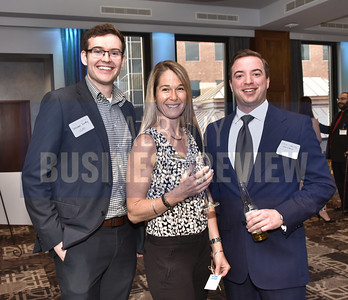 Brendan Duffy from UCM, Ahne Bjelica from Equitas Realty and John LeRoux from Endorphin Advisors.