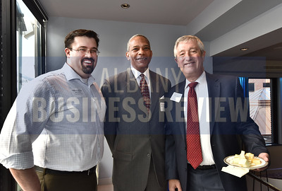 Eric Leander from The Wagoner Firm, Raimundo Archibold from SHG and Richard Weitz from Hodgson Russ.