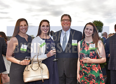 Pioneer Wealth Management team Kristyn Constantino, left, Kelly Richards, Frank Dyer and Samantha Burrington.