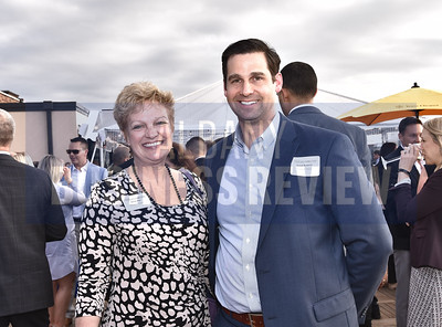 Delcy Fox and Jared Bennett from Swagelok Albany.