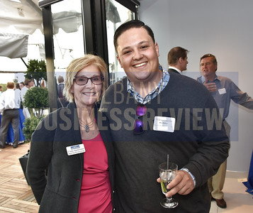 ABR's market president and publisher Cindy Applebaum and Wes Miller from Pinnacle Human Resources.