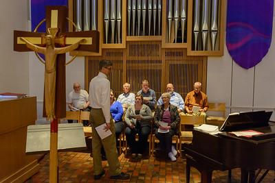 Alumni Choir Rehearsal