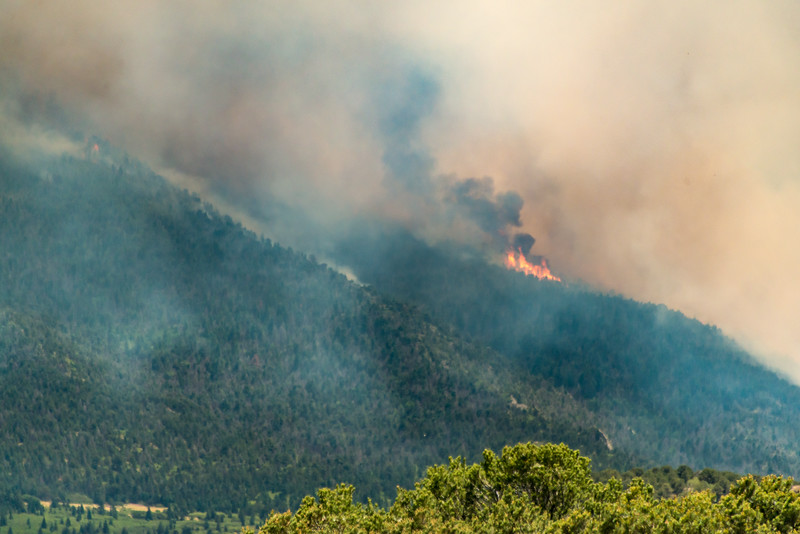 Fire on Silver Mountain