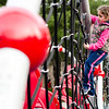 Lyla Kherallah, 6, climbs on the playground at Coolidge Park in Fitchburg during the spring-like weather on Tuesday, February 28, 2017. SENTINEL & ENTERPRISE / Ashley Green