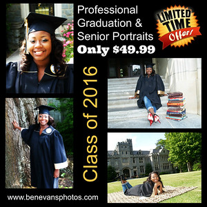 Spring Graduation & Senior Portrait Special