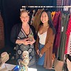 Shoppers Laura Orfandes and Jasmine Leng of Lowell