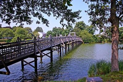 Bridge over Spring Lake