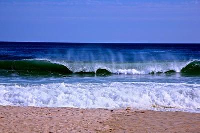 The Atlantic Ocean Kissing The Jersey Shore at Spring Lake