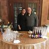 Volunteer bartenders Kathleen and Ben Cannon of Worcester