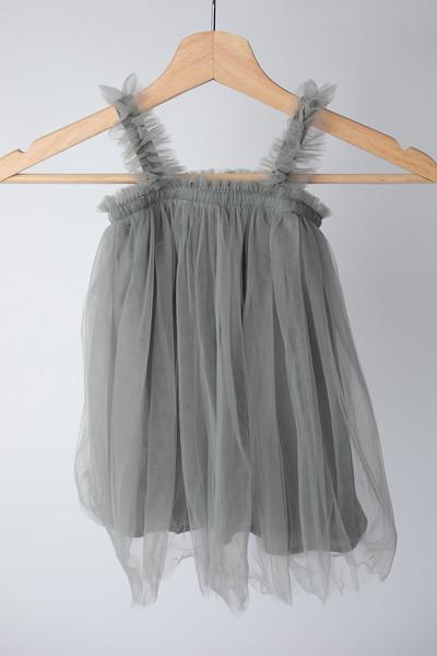 Gray Toddler Tutu Dress Size: Toddler (12-18 months)