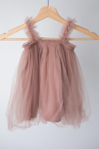 Warm Rose Toddler Tutu Dress Size: Toddler (12-18 months)