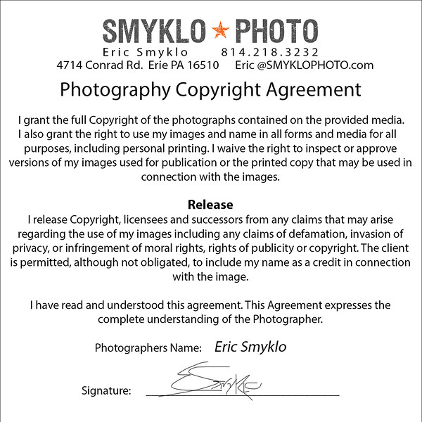 Copyright Release