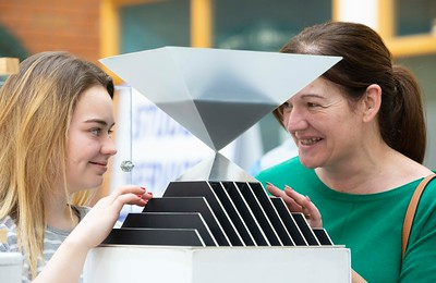 30/03/2019. FREE TO USE IMAGE. Thousands of CAO, part-time and postgraduate applicants visited WIT's Spring open events on Friday evening and Saturday morning. WIT is Ireland's top ranked institute of technology. Pictured are Ciara and Dorothy Connolly from Fethard Tipperary . Picture: Patrick Browne