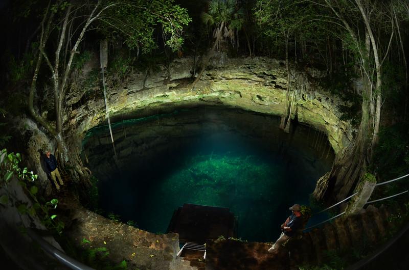 Jungle Cenote - Yucatan