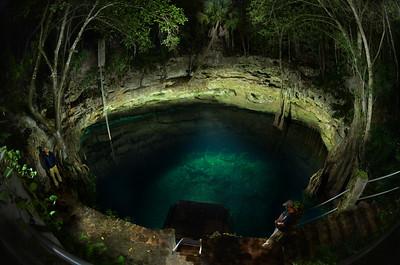 Cenote in Colonia Yucatan