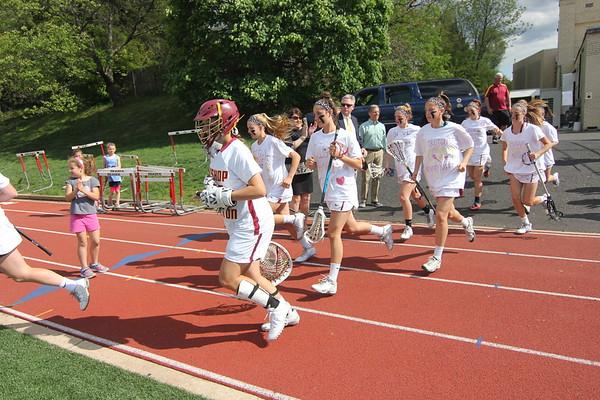 Girls lacrosse: Ireton senior day