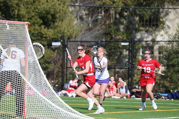 Girls lacrosse: St. John's vs. National Cathedral