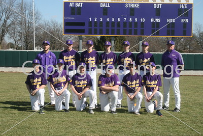 Blissfield Junior Varsity Baseball Team Photo