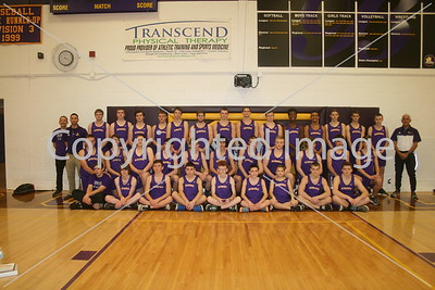 Blissfield Varsity Men's Track Team Photo