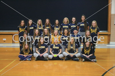 Whiteford Varsity Softball Team Photo