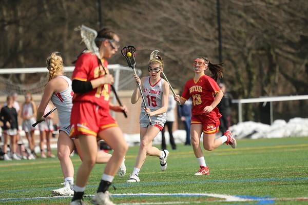Girls lacrosse: St. John's vs. Seton