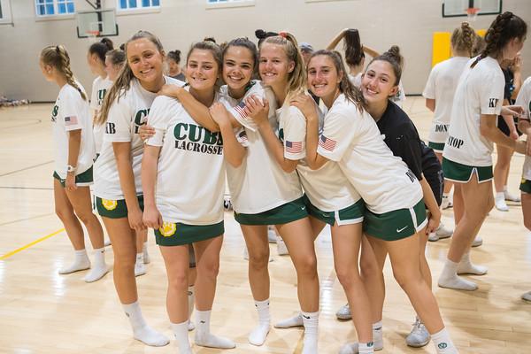 Girls Lacrosse: Visitation Senior Day