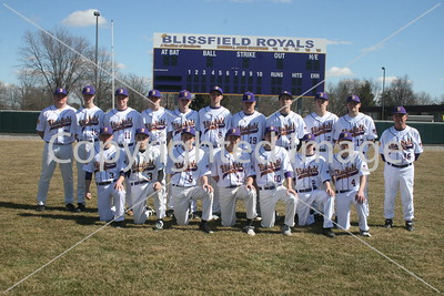 BHS Varsity Baseball Photo