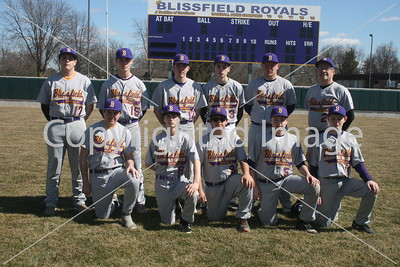 BHS JV Baseball Photo