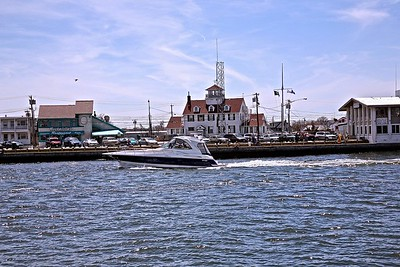 Manasquan Inlet on a Spring Day