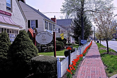 Downtown in Historic Chatham, New Jersey