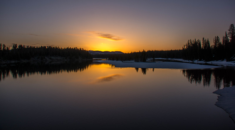 Sunrise, Fishing Bridge