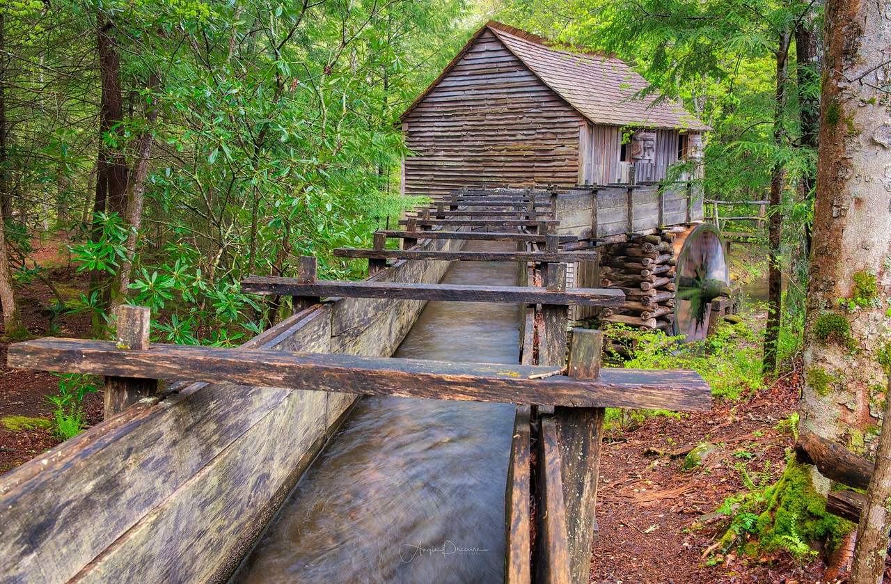 Grist Mill at Cades Cove #21