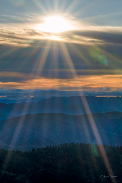 Sunrise at Clingman's Dome #32