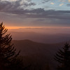Soft Sunrise over the Smoky Mountains