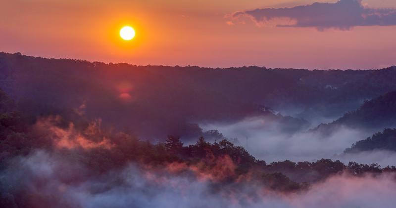 Sunrise at Natural Bridge #2