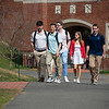 Students enjoy spring day on campus