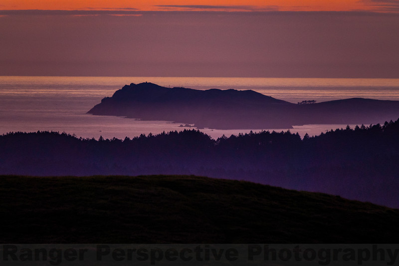 Point Reyes from Mount Tam