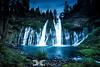 Burney Falls After Dark