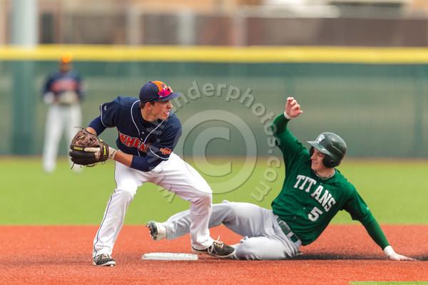 Wheaton College Baseball vs Illinois Wesleyan (doubleheader), March 30, 2013