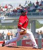 FORT MYERS, FL, March 24, 2012: The Boston Red Sox play the Philadelphia Phillies in a Grapefruit League spring training game at JetBlue Park at Fenway South. (Brita Meng Outzen/Boston Red Sox)