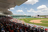 FORT MYERS, FL, March 27, 2012: Fans watch the Boston Red Sox play the Tampa Bay Rays in a Grapefruit League spring training game at JetBlue Park at Fenway South. (Brita Meng Outzen/Boston Red Sox)