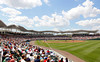 FORT MYERS, FL, March 29, 2012: Fans in right field watch the Boston Red Sox play the Toronto Blue Jays in a Grapefruit League spring training game at JetBlue Park at Fenway South. (Brita Meng Outzen/Boston Red Sox)