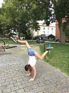 Hailey in the park